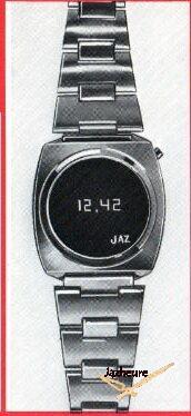 Montre Jaz LED DZ 1423 de 1976