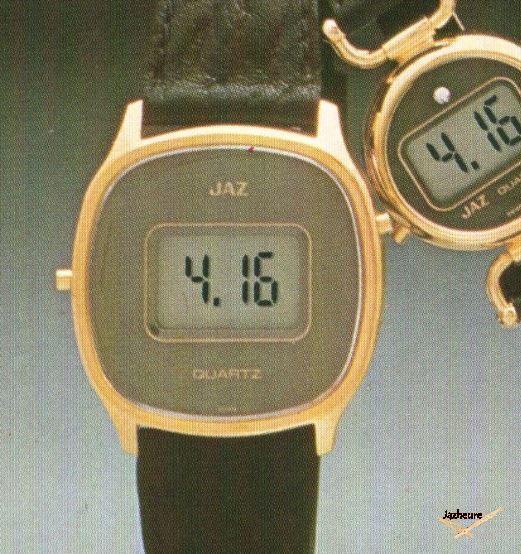 Montre CZ1575 de 1979 Jaz Quartz LCD