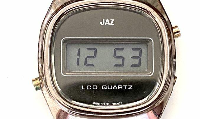 Montre LCD Jaz Quartz CZ-1546 de 1978