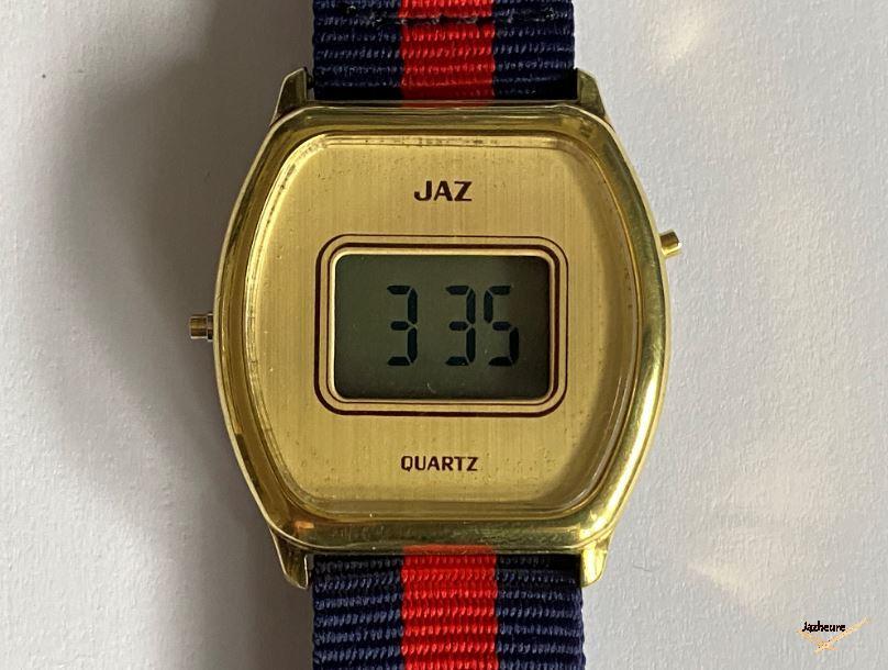 Montre Jaz Quartz LCD vers 1979