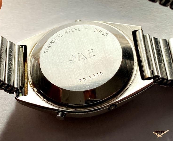 Montre Jaz TZ-1903 de 1977