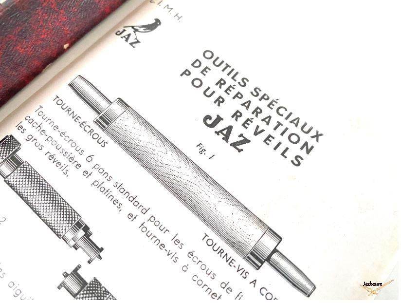 Boite et outils spéciaux Jaz