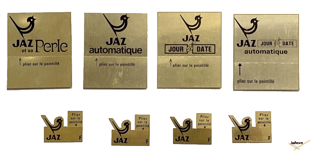 Etiquettes et plaques de prix Jaz