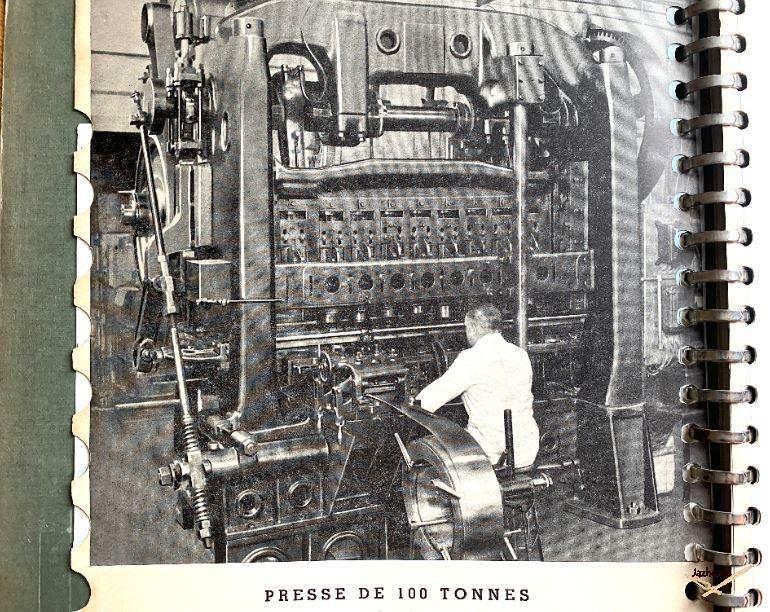Usine Jaz de Puteaux dans les années 50