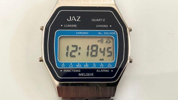 Montre Jaz Quartz mélodie des années 80