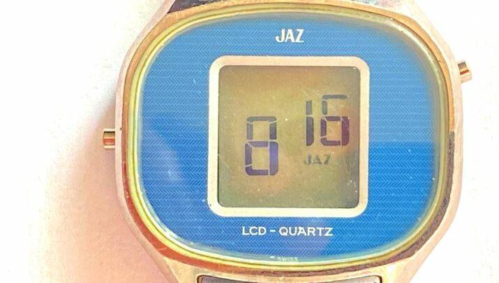 Montre Jaz Quartz 5 fonctions TZ-1901 (1977)