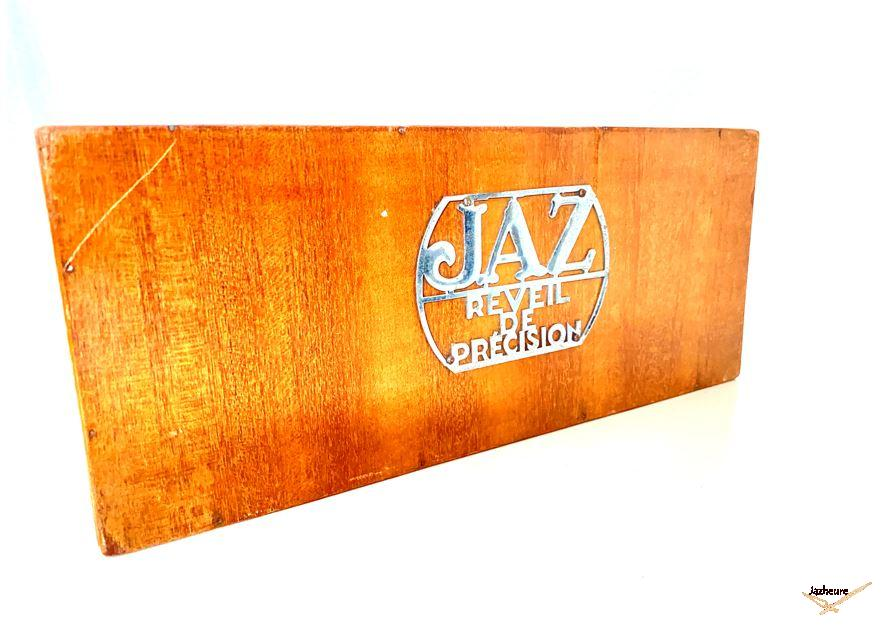 Présentoir bois Jaz pour réveil année 50